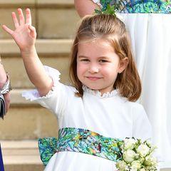 Platz 4  Prinzessin Charlotte, die Tochter von Prinz William und seiner Frau Herzogin Catherine
