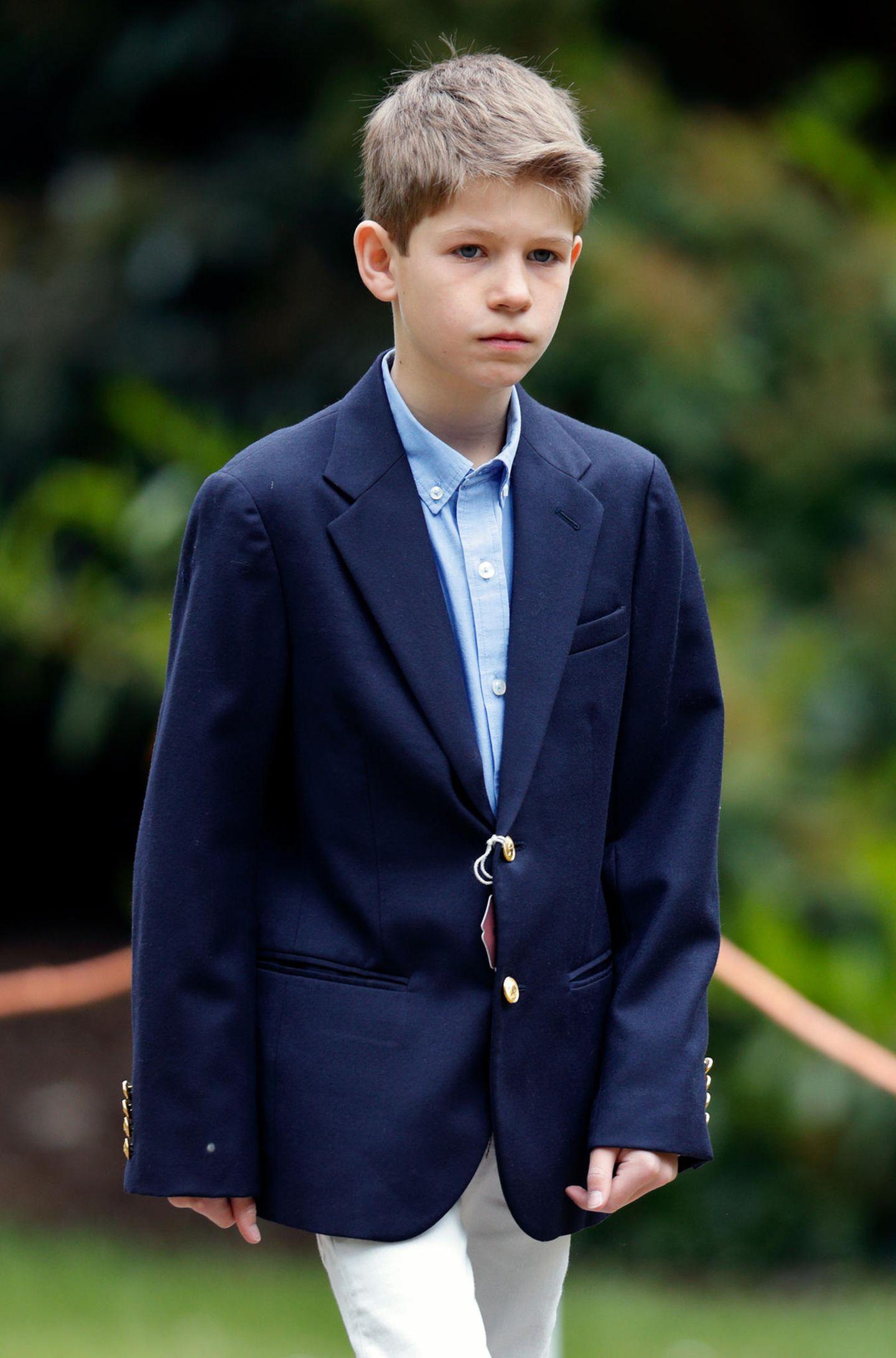 Platz 15  James, Viscount Severn, der Sohn von Prinz Edward und seiner Frau Gräfin Sophie