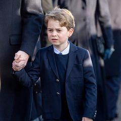 Platz 3  Prinz George, der älteste Sohn von Prinz William und seiner Frau Herzogin Catherine