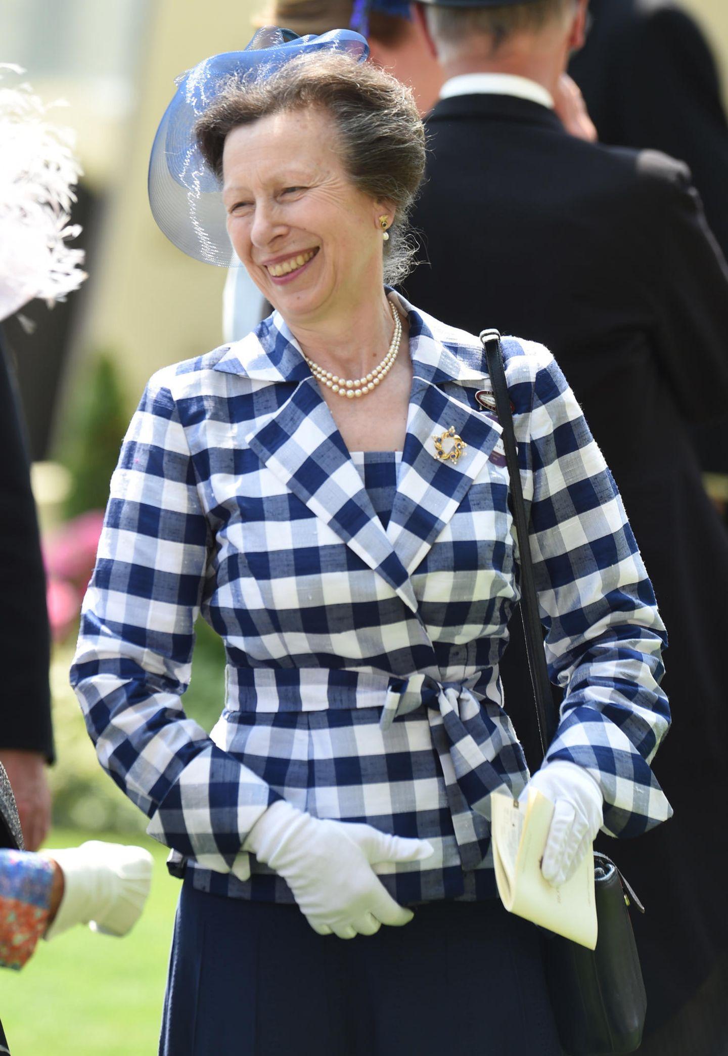 Platz 17  Prinzessin Anne, die einzige Tochter von Queen Elizabeth und ihrem Mann Prinz Philip