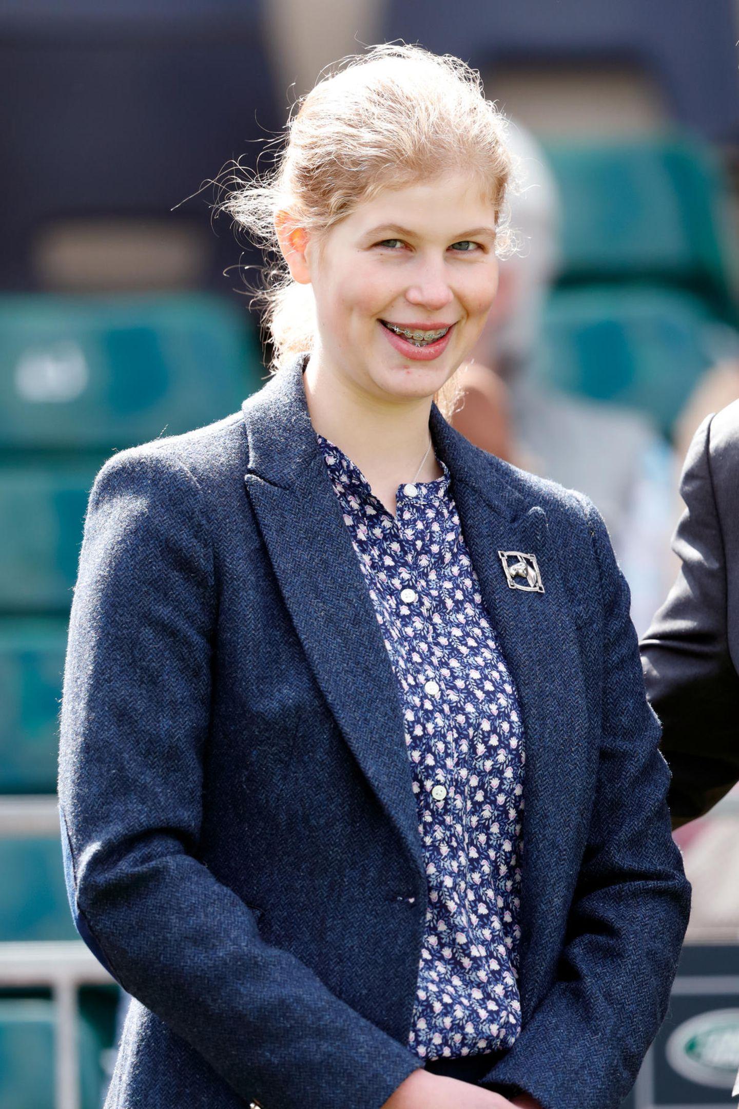 Platz 14  Lady Louise Windsor, die Tochter von Prinz Edward und Gräfin Sophie