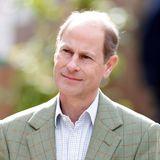 Platz 14  Prinz Edward, der jüngste Sohn von Queen Elizabeth und Prinz Philip