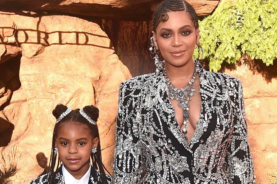 Beyoncés Tochter Blue Ivy: Modeldebüt mit erst neun Jahren