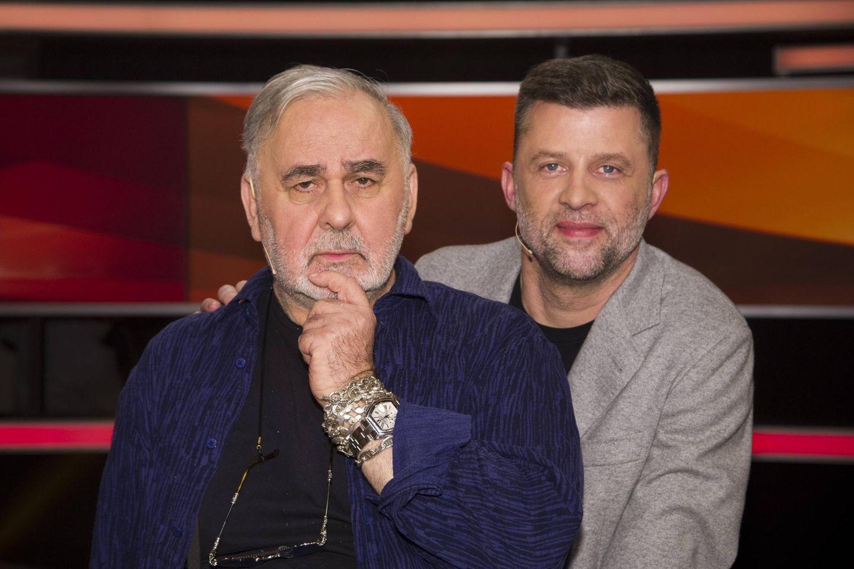 Udo Walz (†76) und Carsten Thamm-Walz