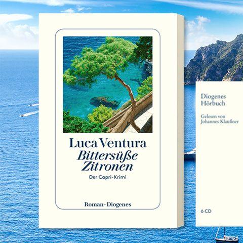 Gewinnspiel: Capri lockt – mit dem Duft von Zitronen und dunklen Geheimnissen