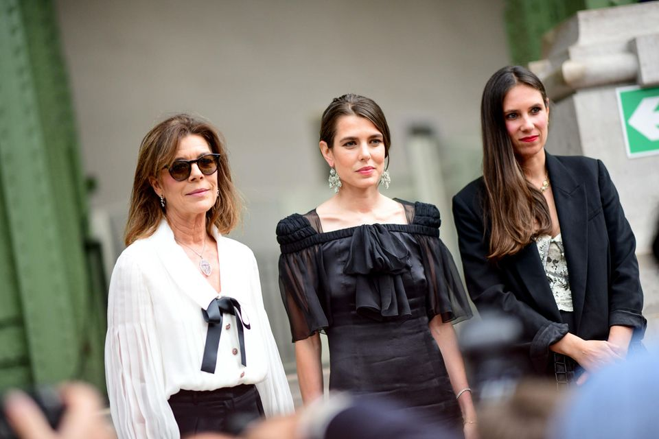 Caroline von Hannover, Charlotte Casiraghi + Tatiana Santo Domingo