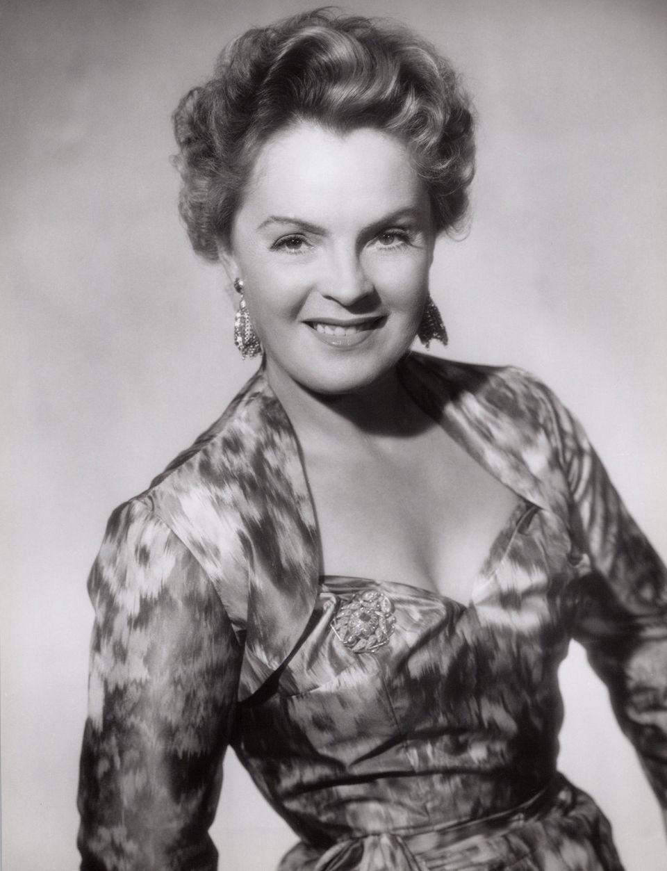 Magda Schneider in den1950er Jahren.