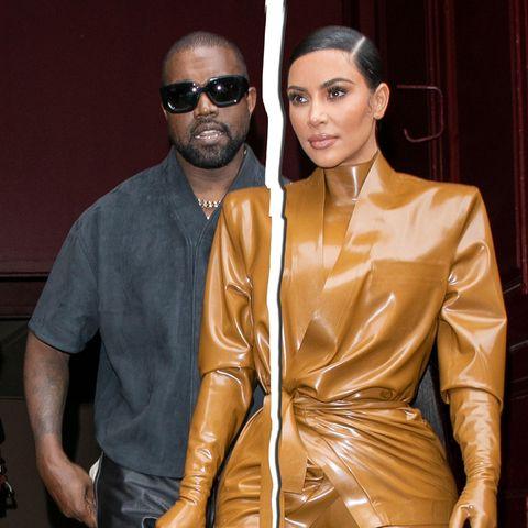 Kanye West und Kim Kardshian