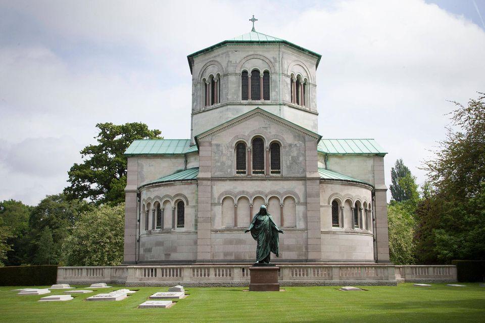 Das Royale Mausoleum liegt auf dem Frogmore Estateunweit Schloss Windsor.