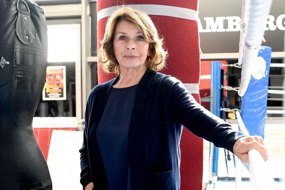 """Senta Berger am Set von""""Martha und Tommy"""""""