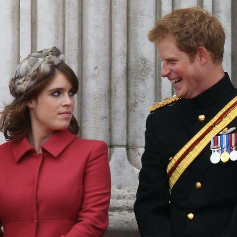 Prinzessin Eugenie und Prinz Harry