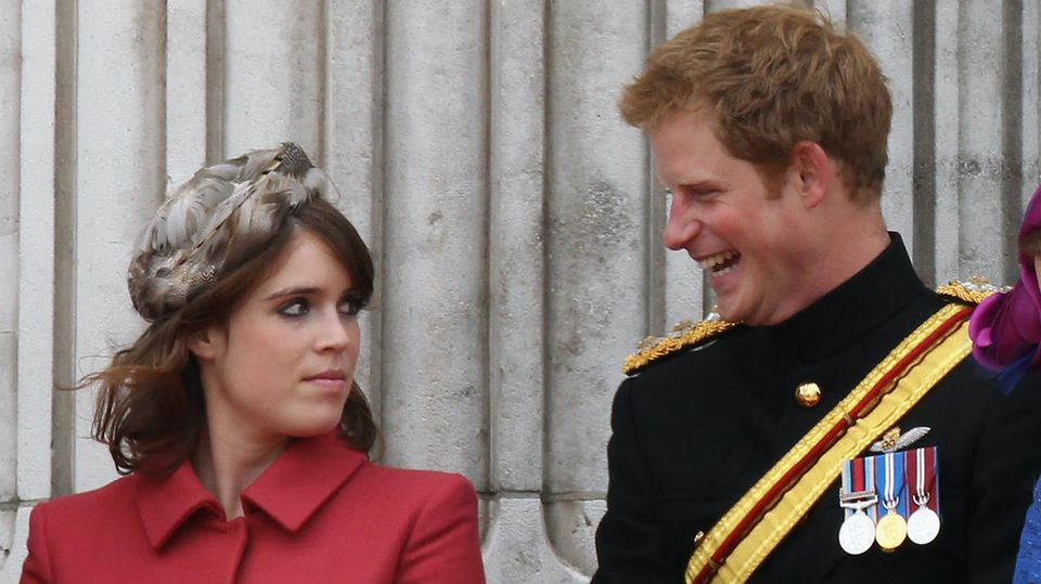 Prinzessin Eugenie und Prinz Harry