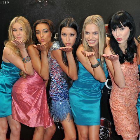 """Die Kandidatinnen von """"Germany's next Topmodel"""" 2011"""