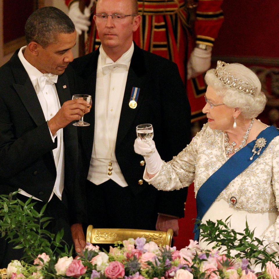 Barack Obama Queen Elizabeth