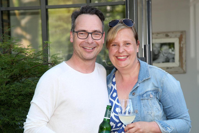 Matthias Opdenhövel mit Ehefrau Alexandra 2017 bei einem Event