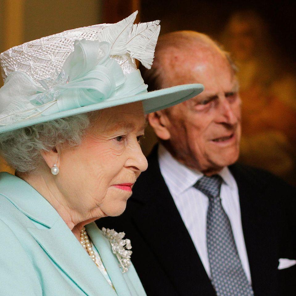 Queen Elizabeth undPrinz Philip