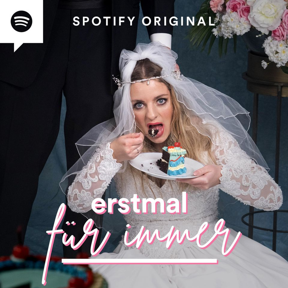 """""""Erstmal für immer"""" ist ein Spotify Original Podcast und wird am 27. Februar 2021 veröffentlicht. Jeden zweiten Samstag folgt eine neue Folge exklusiv auf Spotify."""