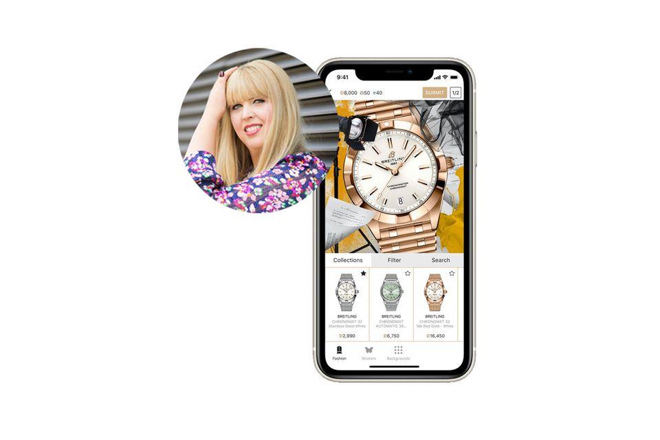 Ein interaktives Handyspiel für Luxusmode? Das musste Nane, Head of Fashion, unbedingt testen!