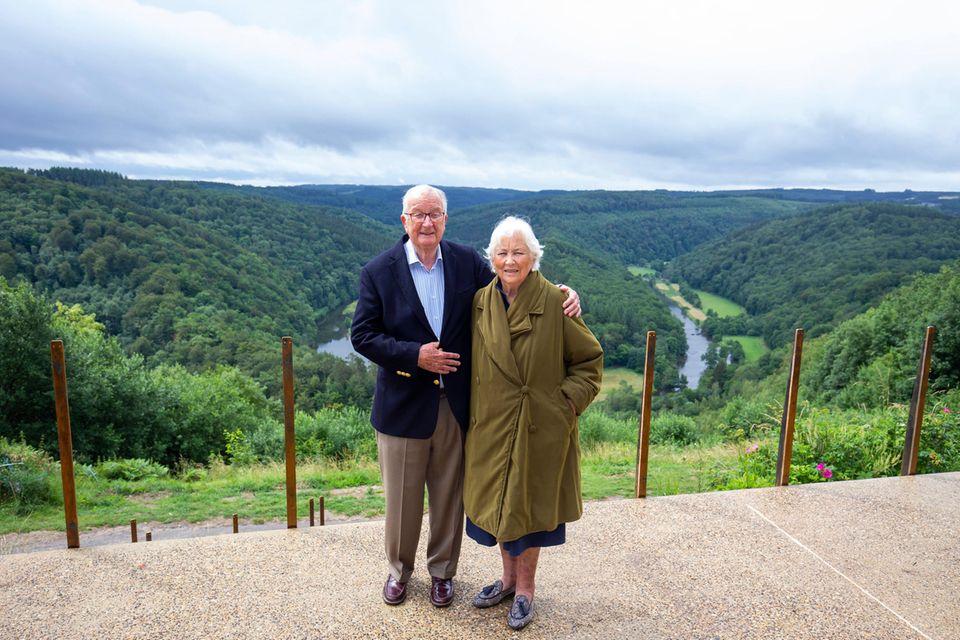 König Albert und Königin Paola waren von 1993 bis 2013 im Amt. Seit 1959 sind sie verheiratet.