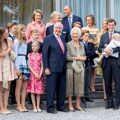 Die belgischen Royals.