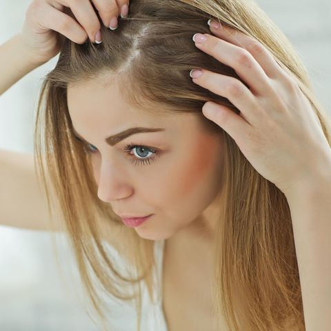 Und braune haare augenbrauen blonde Blonde haare