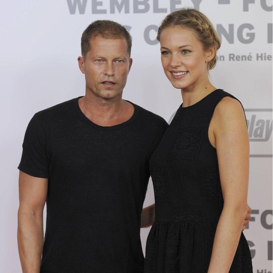 Til Schweiger und Svenja Holtmann 2013 bei einer Filmpremiere in München.