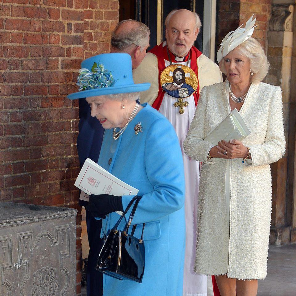 Queen Elizabeth und Herzogin Camilla