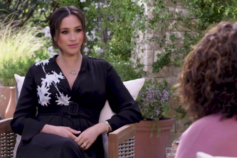 Herzogin Meghan im Gespräch mit Talkshow-Legende Oprah Winfrey