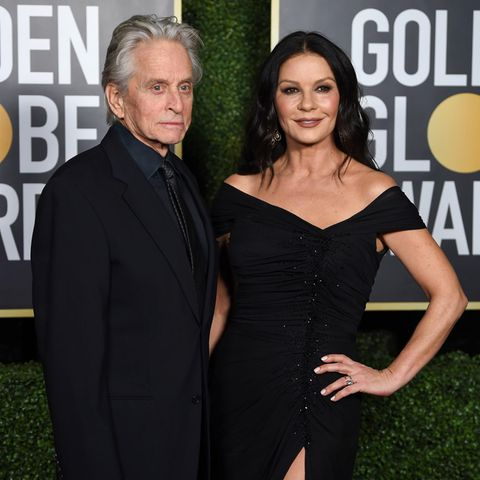 Michael Douglas und Catherine Zeta-Jones bei den Golden Globes 2021.