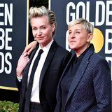 """Portia de Rossi  Die Ehefrau von US-Talk-Queen Ellen DeGeneres hat ihren Leidensweg mit der Essstörung 2010 im Buch """"Das schwere Los der Leichtigkeit"""" verarbeitet. Für ihre damalige Rolle in der Dramaserie """"Ally McBeal"""" hat sie sich fast zu Tode gehungert. Da war sie 25 Jahre alt. Erst Jahre später konnte die australische Schauspielerin ihre Magersucht überwinden."""