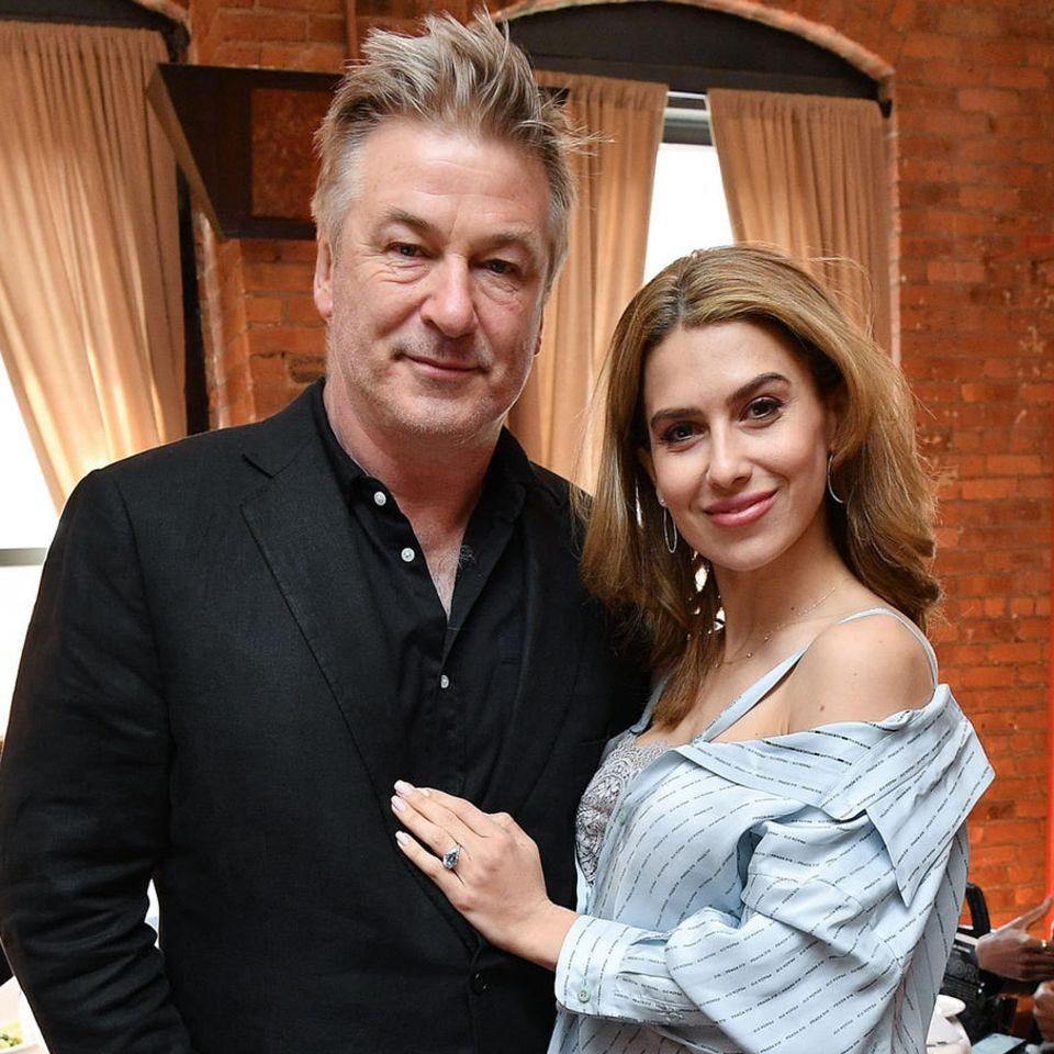 Alec Baldwin mit Ehefrau Hilaria