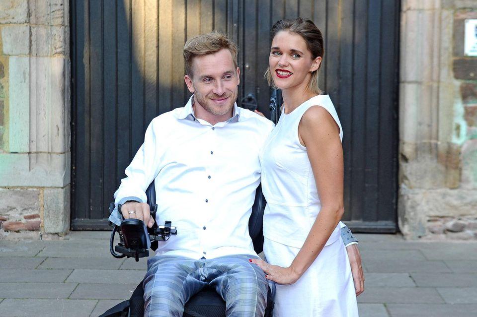 Samuel Koch und Ehefrau Sarah Elena
