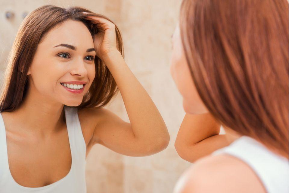 Rotstich entfernen Haare