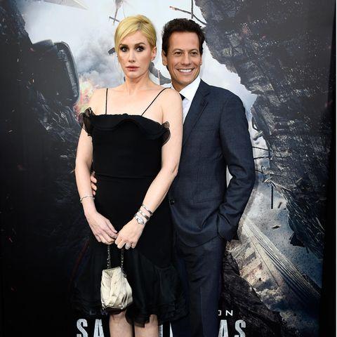 Alice Evans und Ioan Gruffudd 2015 bei einer Filmpremiere in Hollywood.
