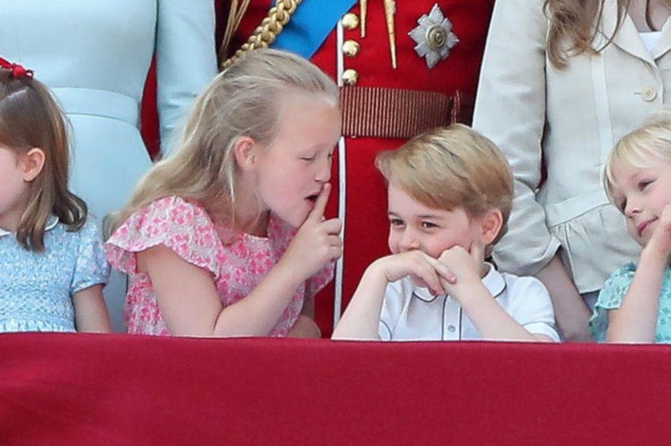 Savannah Philips und Prinz George