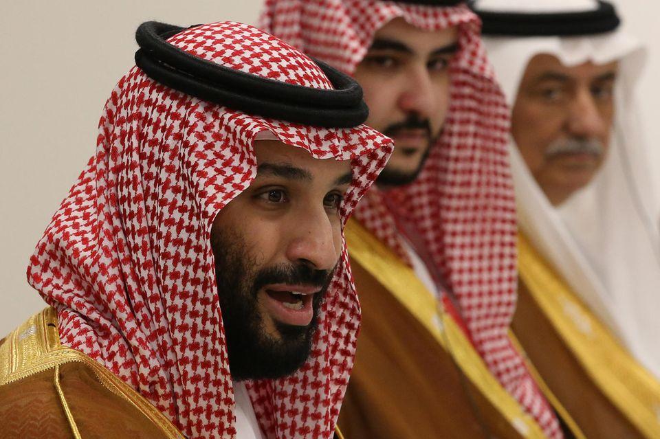 Kronprinz Mohammed bin Salman ist laut Strafanzeige mutmaßlich hauptverantwortlich für den Mord an Jamal Khashoggi.