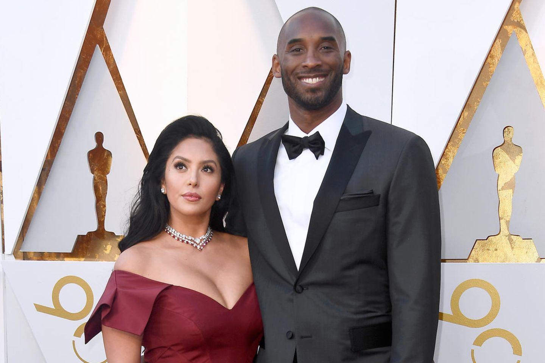 Vanessa und Kobe Bryant bei den Oscars 2018