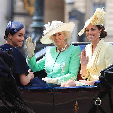 Herzogin Meghan, Herzogin Camilla und Herzogin Catherine