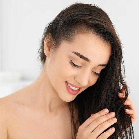 Apfelessig Haare