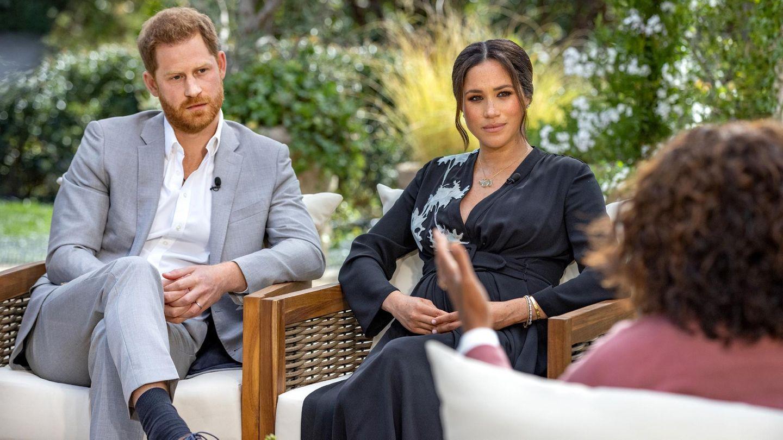 Prinz Harry und Herzogin Meghan im Gespräch mit Oprah Winfrey. In Deutschland ist das Interview am 8. März 2021 auf RTL, VOX und TVNOW zu sehen.