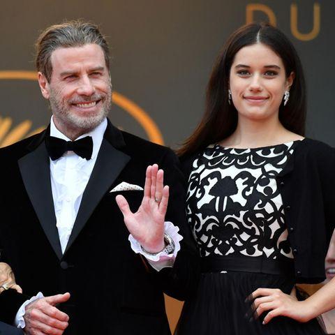 John Travolta und Tochter Ella
