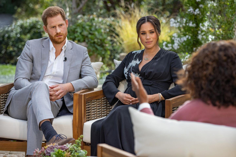 "Prinz Harry + Herzogin Meghan bei Oprah (""A CBS Primetime Special"")"