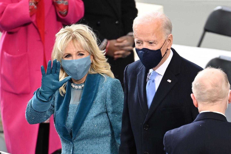 Volle Punktzahl für diesen Look: First LadyDr. Jill Biden bei der Amtseinführung am 20. Januar 2021