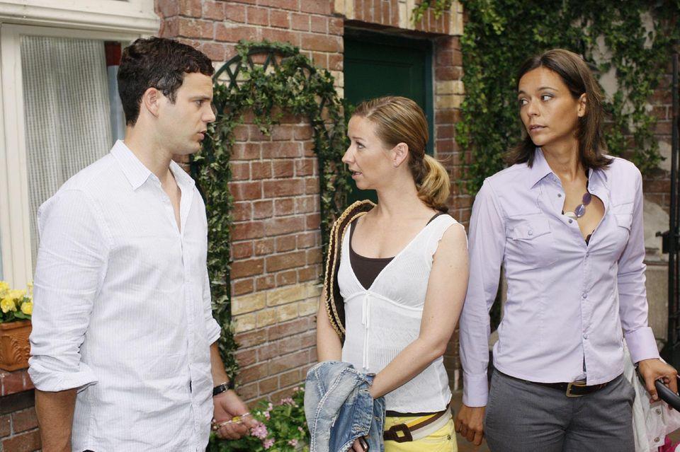 Till (Ben Ruedinger), Ute (Isabell Hertel) und Pia (Yvonne de Bark)
