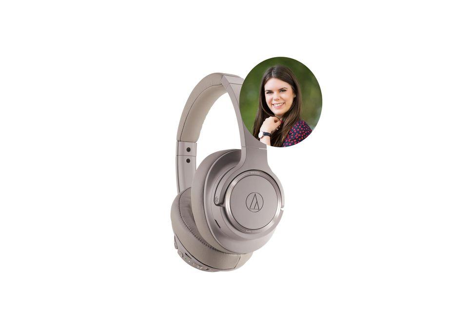Online-Redakteurin Jessica hat die Kopfhörer von Audio-Technica getestet.