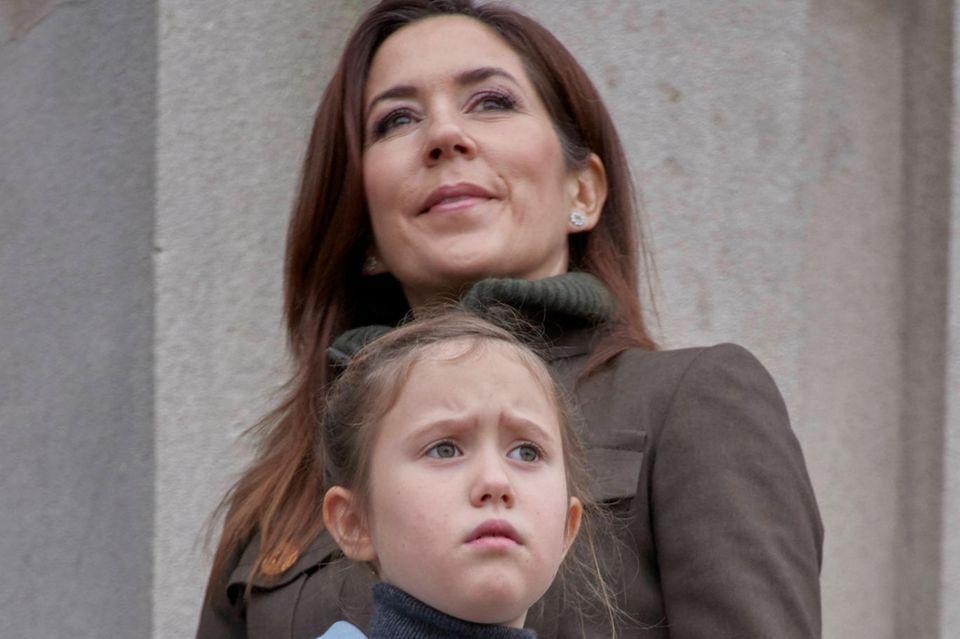 Prinzessin Mary von Dänemark mit Prinzessin Josephine