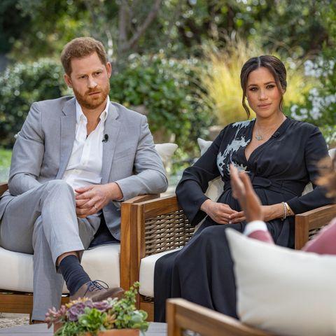 Prinz Harry, Herzogin Meghan + Oprah Winfrey