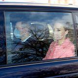 11. März 2021  Prinz William und Herzogin Catherine absolvieren heute in London ihren ersten öffentlichen Auftritt im Jahr 2021 und nach dem Oprah-Interview.Prinz William trägt eine schwarze Jacke, Herzogin Catherine einen rosafarbenen Mantel mit passendem Oberteil.Die beiden sollen zutiefst verärgert sein über die Art und Weise, wie Prinz Harry und Herzogin Meghan in dem Interview über sie gesprochen haben. Ob die beiden deshalb so gedankenverloren wirken?