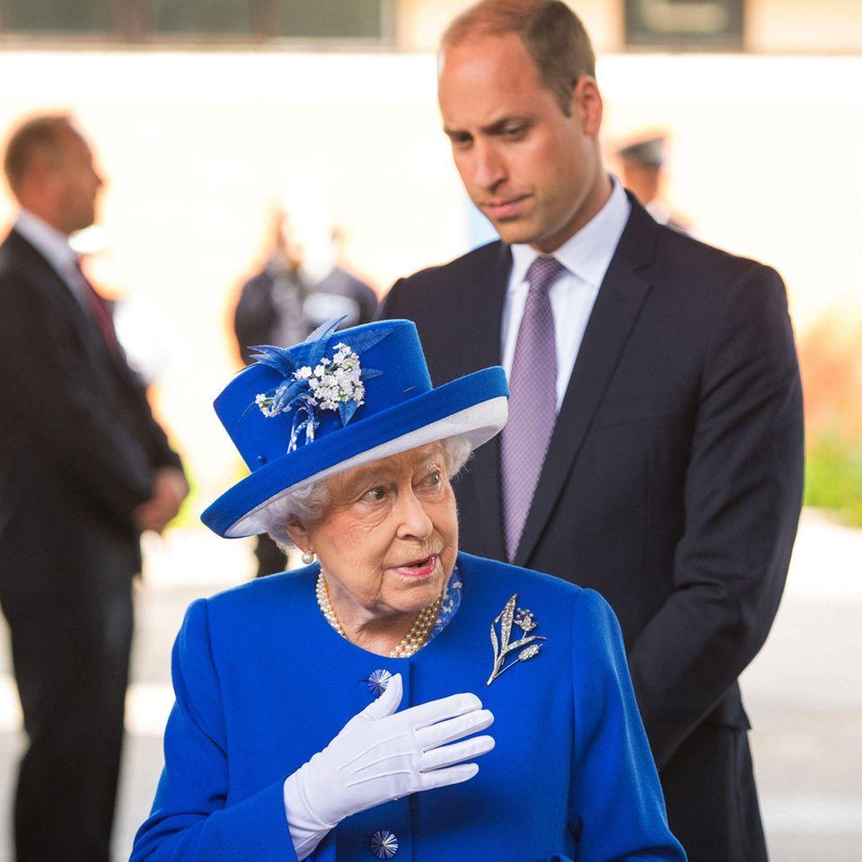 Queen Elizabeth, Prinz William