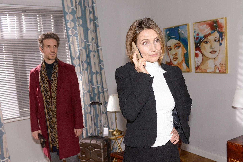 GZSZ: Felix Lehmann (Thaddäus Meilinger) und Rosa Lehmann (Joana Schümer)